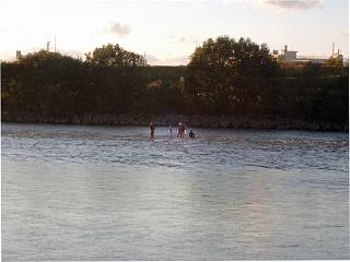 水中撮影1