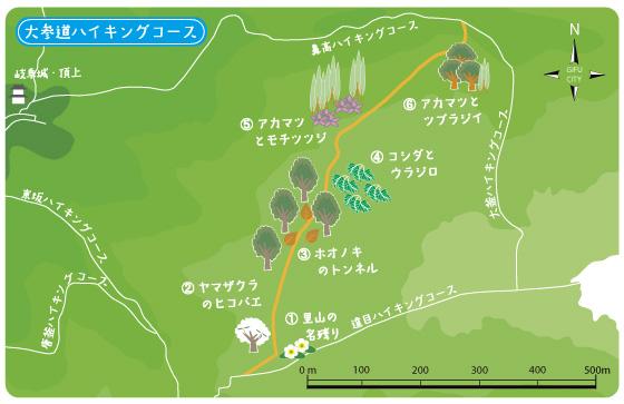 大参道TOPマップ