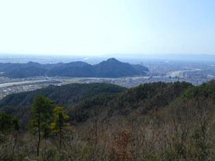 百々ヶ峰山頂からの眺望