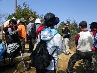 ふれあいの森自然学校代表中山さんのお話