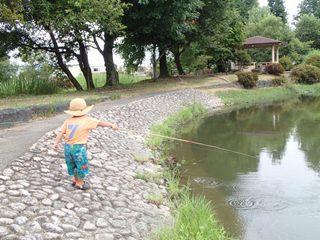 最年少釣り師