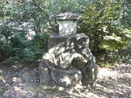伊奈波神社跡