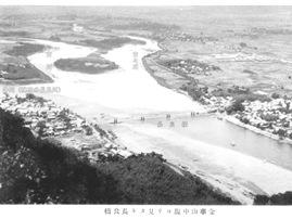 長良川昔の写真