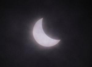 日食@長良川