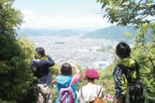 金華山から望む街並み