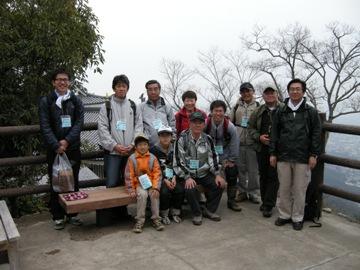 金華山学習会の参加者